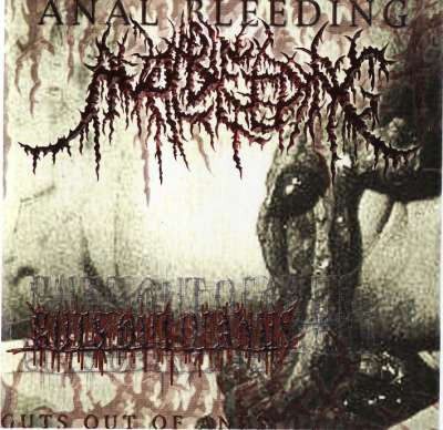 An*l Bleeding- Guts Out Of Anus CD on Permeated Rec.