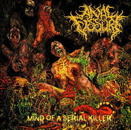 An*l Fissure- Mind Of A Serial Killer CD on Brute! Prod.