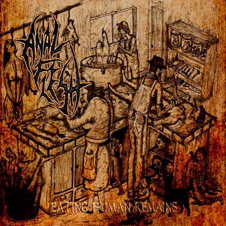 An*l Flesh- Eating Human Remains CD on Lower Budget Rec.