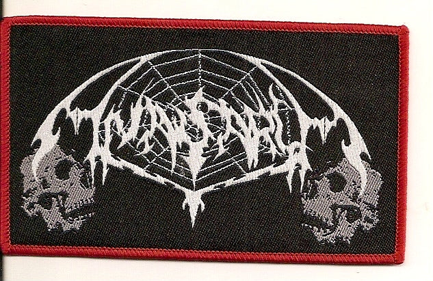 ANASARCA- Logo Patch Red Border