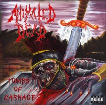 ANIMATED DEAD- Tombs Of Carnage CD