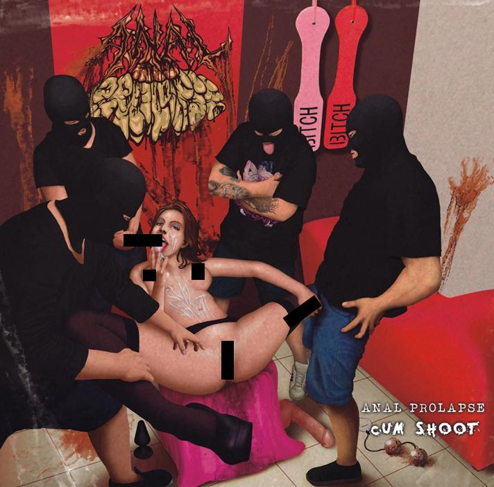 A*al Prolapse- Cum Shoot CD on Bizarre Leprous Prod.