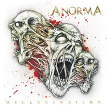 ANORMA- Hellucination CD on No Label Records