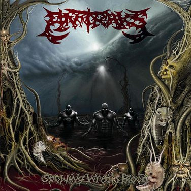 ANTRAKS- Spewing Wrath Blood CD on P.E.R.