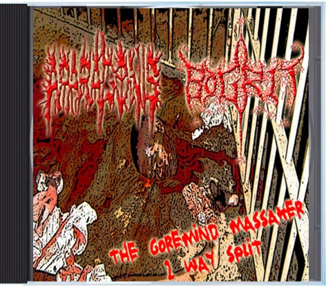 Bogrit / Aparagonis- The Goremind Massaker Split CD