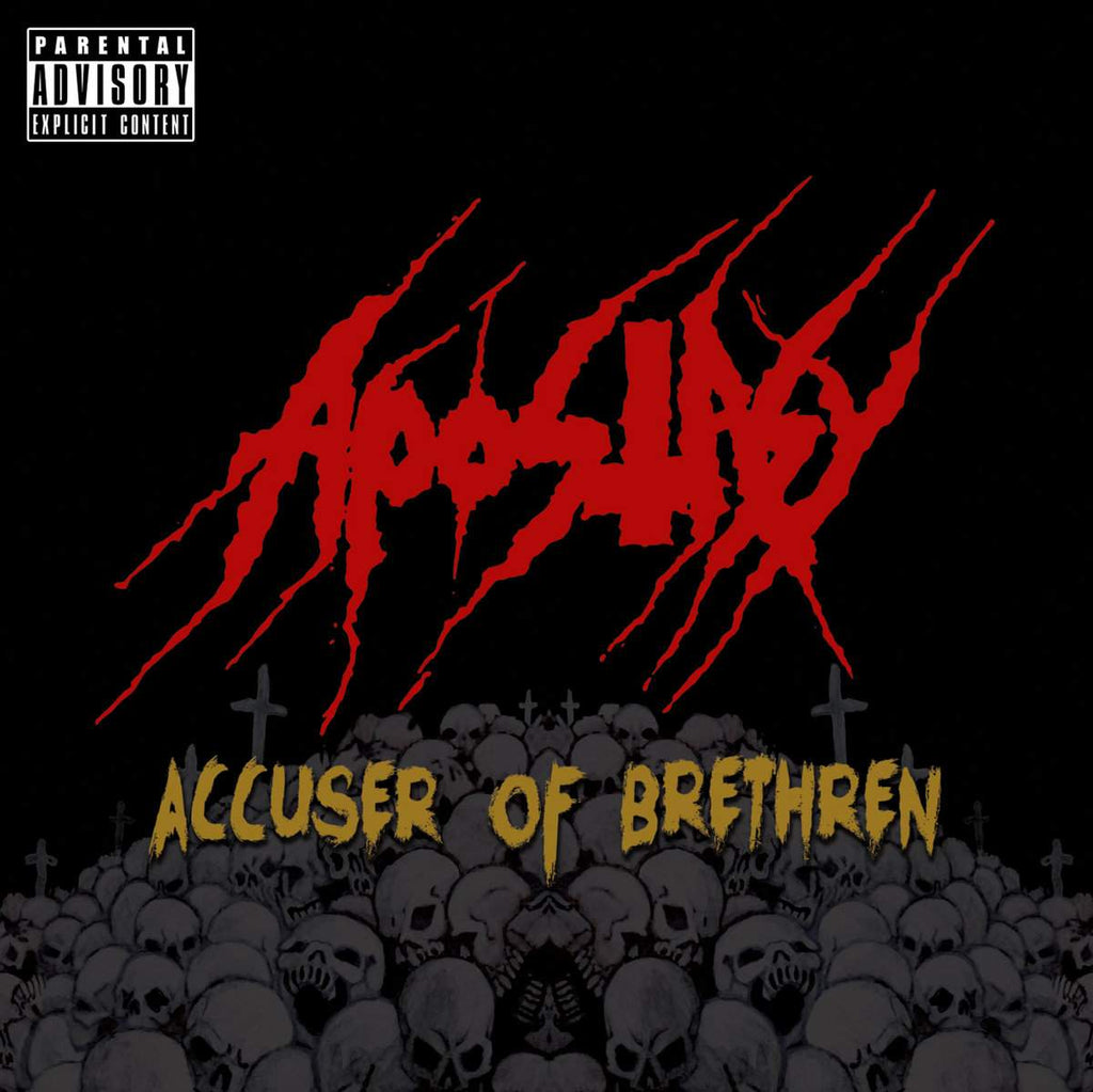Apostasy- Accuser Of Brethren CD on P.E.R.