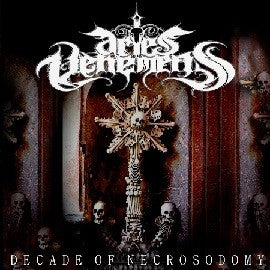 ARIES VEHEMENS- Decade Of Necrosodomy CD on Goressimo Rec.