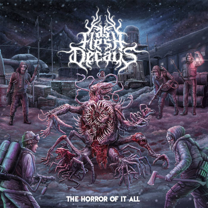 AS FLESH DECAYS- The Horror Of It All / Sinister CD on Sevared Records Out Now!!!