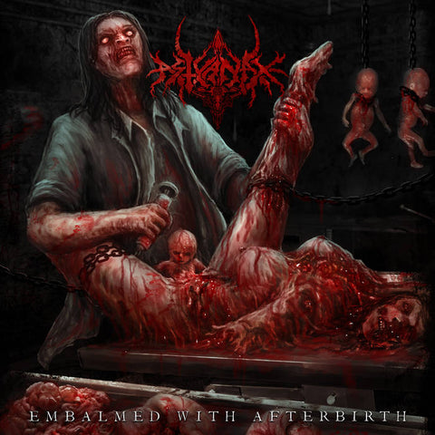 Astyanax- Embalmed With Afterbirth CD on P.E.R.