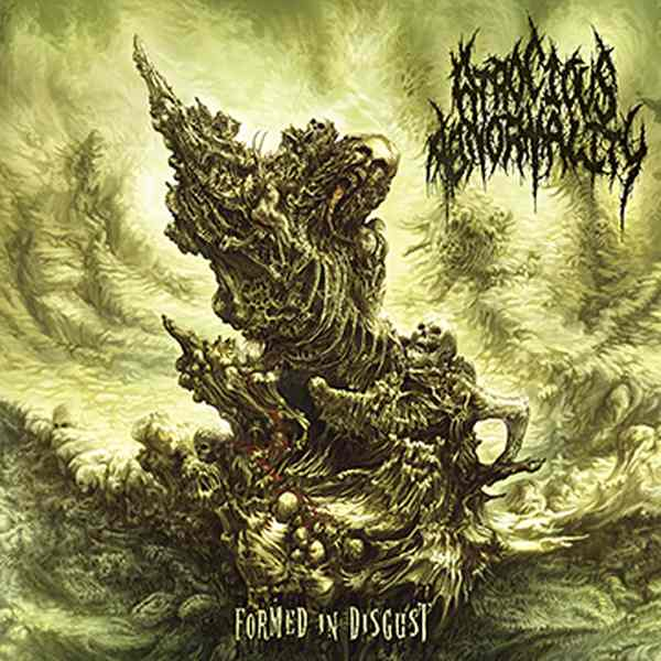 Atrocious Abnormality- Formed In Disgust CD on Comatose Music