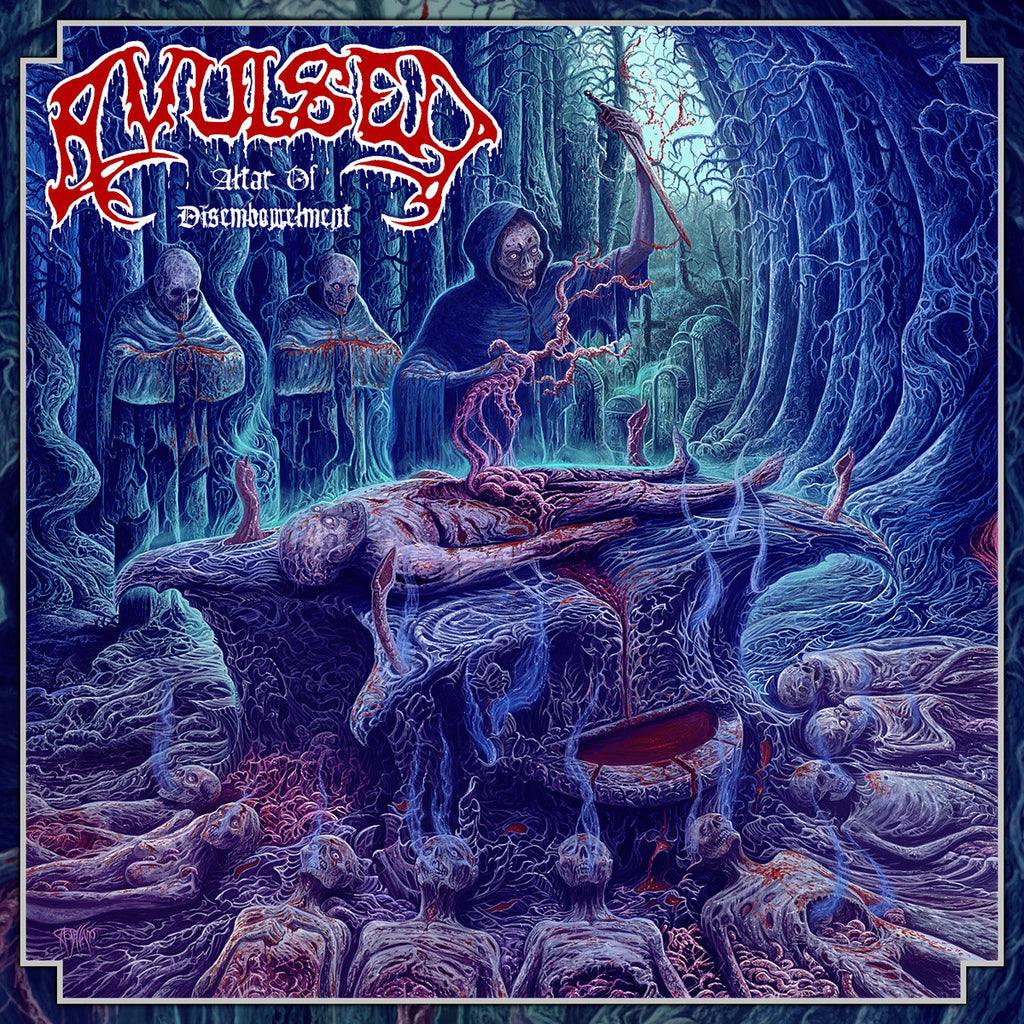 Avulsed- Altar Of Disembowelment CD on Xtreem Music