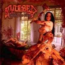 AVULSED- Gorespattered Suicide Re-Issue CD w/ Bonus Tracks