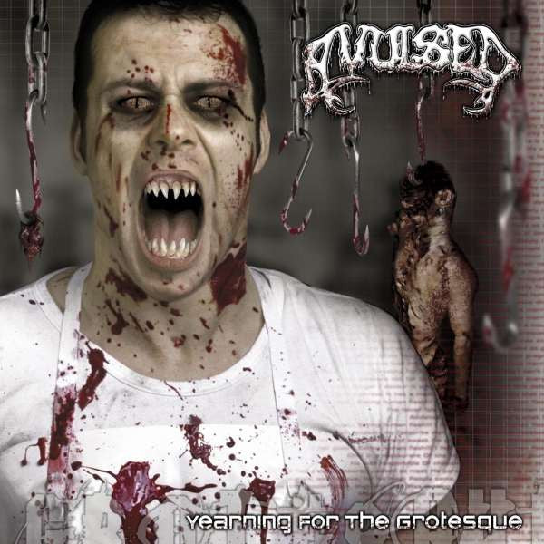 Avulsed- Yearning For The Grotesque CD on Morbid Tales Rec.