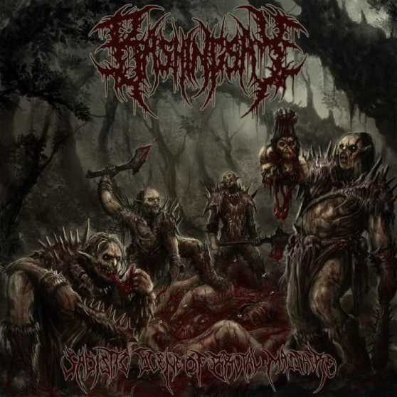 Bashingsay- Sadistic Scene Of Brutal Massacre CD on Rotten Music