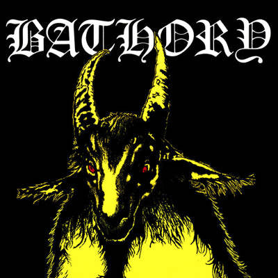 Bathory- Bathory CD on Black Mark Prod.