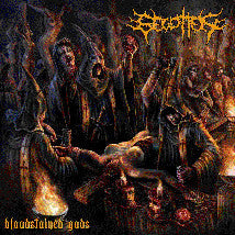 BEGOTTEN- Bloodstained Gods CD on Morbid Gen.