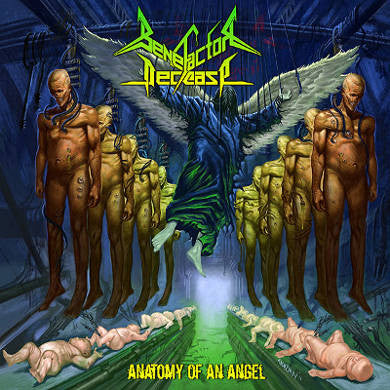 Benefactor Decease- Anatomy Of An Angel CD on Xtreem Music