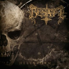 Besatt- Hellstorm CD on Warheart Records