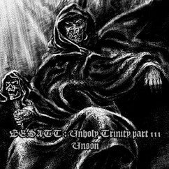 "Besatt- Unholy Trinity: Part III ""Unson"" CD on Warheart Rec."