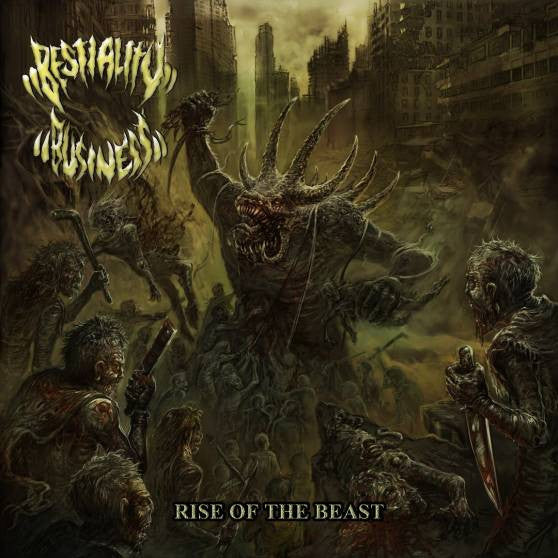 Bestiality Business- Rise Of The Beast CD on Soundage Prod.