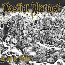 Bestial Warlust- Blood & Valour (Deluxe) DIGI-CD on Hells Headbangers