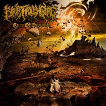 BIRTH THROUGH GORE- Reign Of Depravity CD on Sevared Rec.
