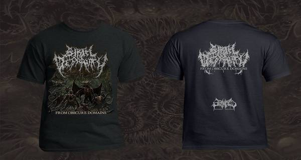BIRTH OF DEPRAVITY- From Obscure Domains T-SHIRT S-XXXL OUT NOW!!!