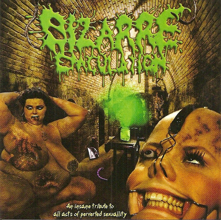 Bizarre Ejaculation- An Insane Tribute To All Acts Of Perverted Sexuality CD on Rotten Foetus Rec.
