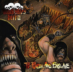 Black Skies Burn- To Punish And Enslave CD