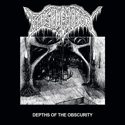 Blasphematory- Depths Of The Obscurity CD on Nuclear Winter Rec.