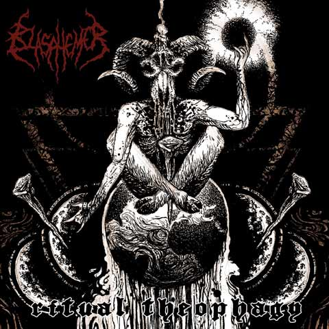 Blasphemer- Ritual Theophagy CD on Comatose Music
