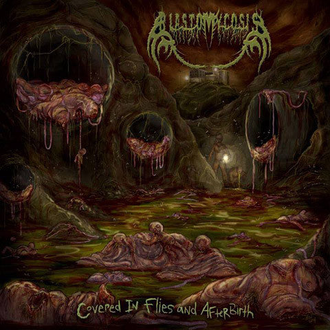Blastomycosis- Covered In Flies And Afterbirth CD on CDN Rec.