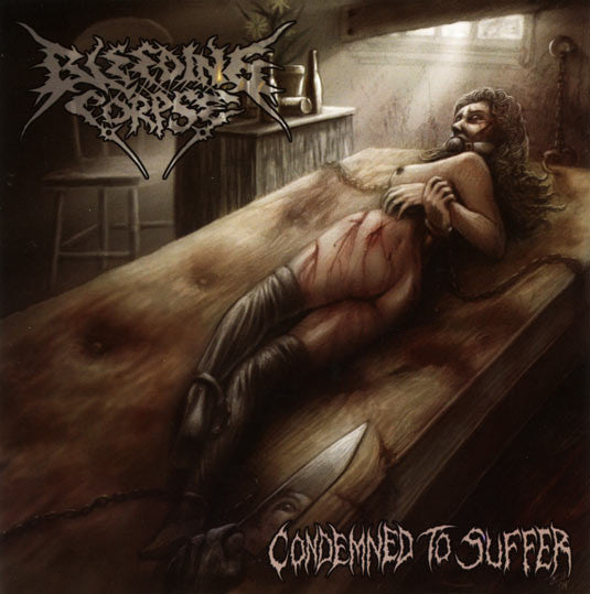 Bleeding Corpse- Condemned To Suffer CD on Groupies Merch
