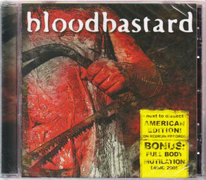 Bloodbastard- Next To Dissect CD on Scrotum Jus Records