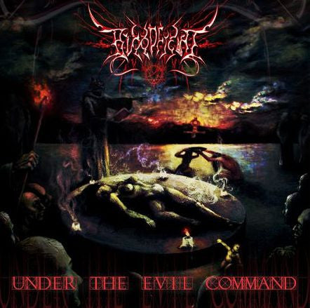 Bloodfiend- Under The Evil Command CD on Disembodied Rec.