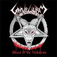 Gravewurm- Blood Of The Pentagram CD on Hells Headbangers