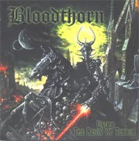 Bloodthorn- Under The Reign Of Terror CD on Red Stream