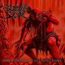 Bloody Gore- Stench / Blood Driven CD on Undying Music