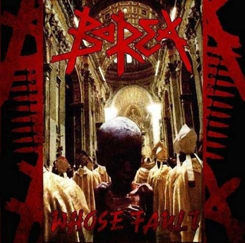 Borea- Whose Fault CD on Psycho Records