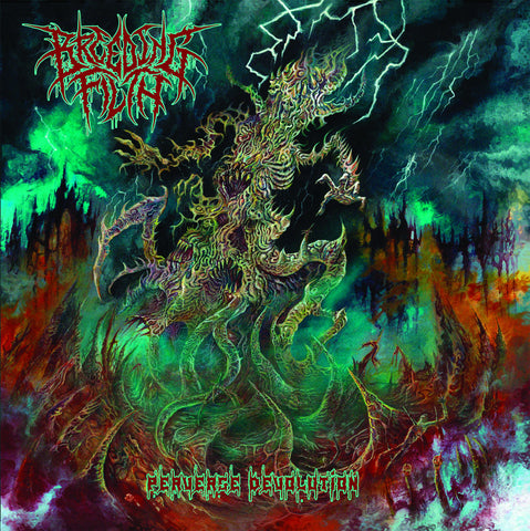 BREEDING FILTH- Perverse Devolution CD on Sevared Rec. Out Now!!!