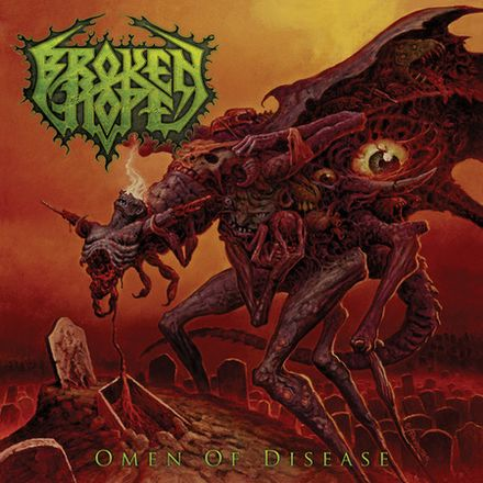 Broken Hope- Omen Of Disease CD on Stillborn Sounds