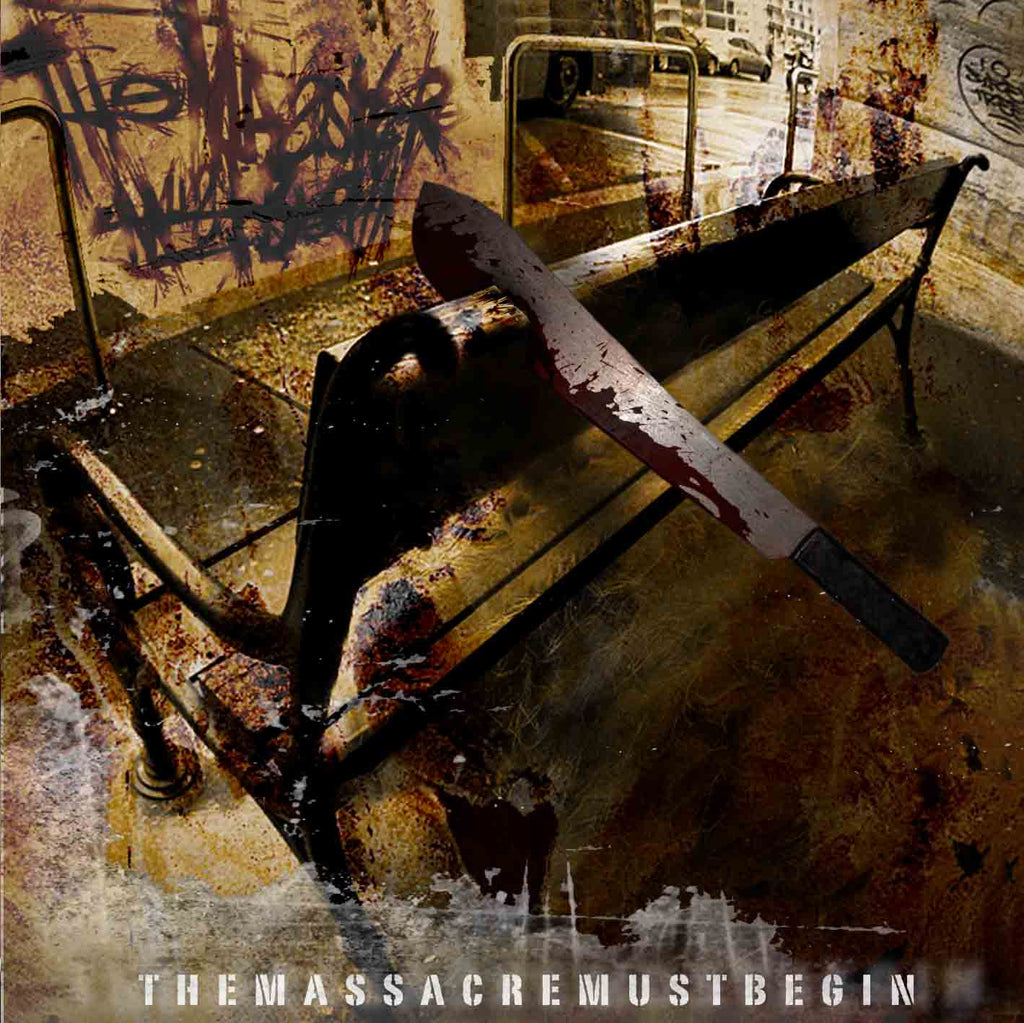 The Massacre Must Begin- S/T CD on American Line Prod.