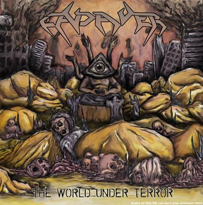 Cadaver- The World Under Terror CD on Eastbreath Rec.