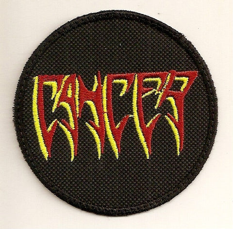 Cancer- Sewn Logo PATCH