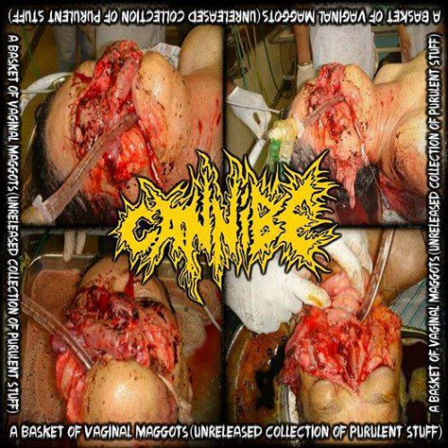 Cannibe- A Basket Of Vaginal Maggots CD on End War Rec.
