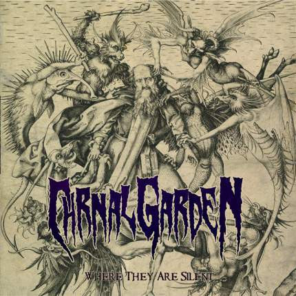 CARNAL GARDEN- Where They Are Silent CD on Eclectic Rec.