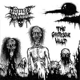 Carnal Ghoul- The Grotesque Vault MCD on Remission Rec.
