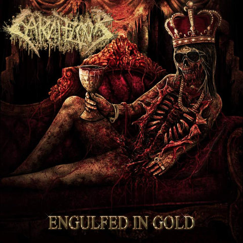 Carnifloor- Engulfed In Gold CD on Rotten Music