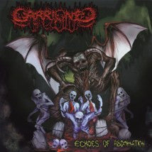 CARRIONED- Echoes Of Abomination CD on P.E.R.