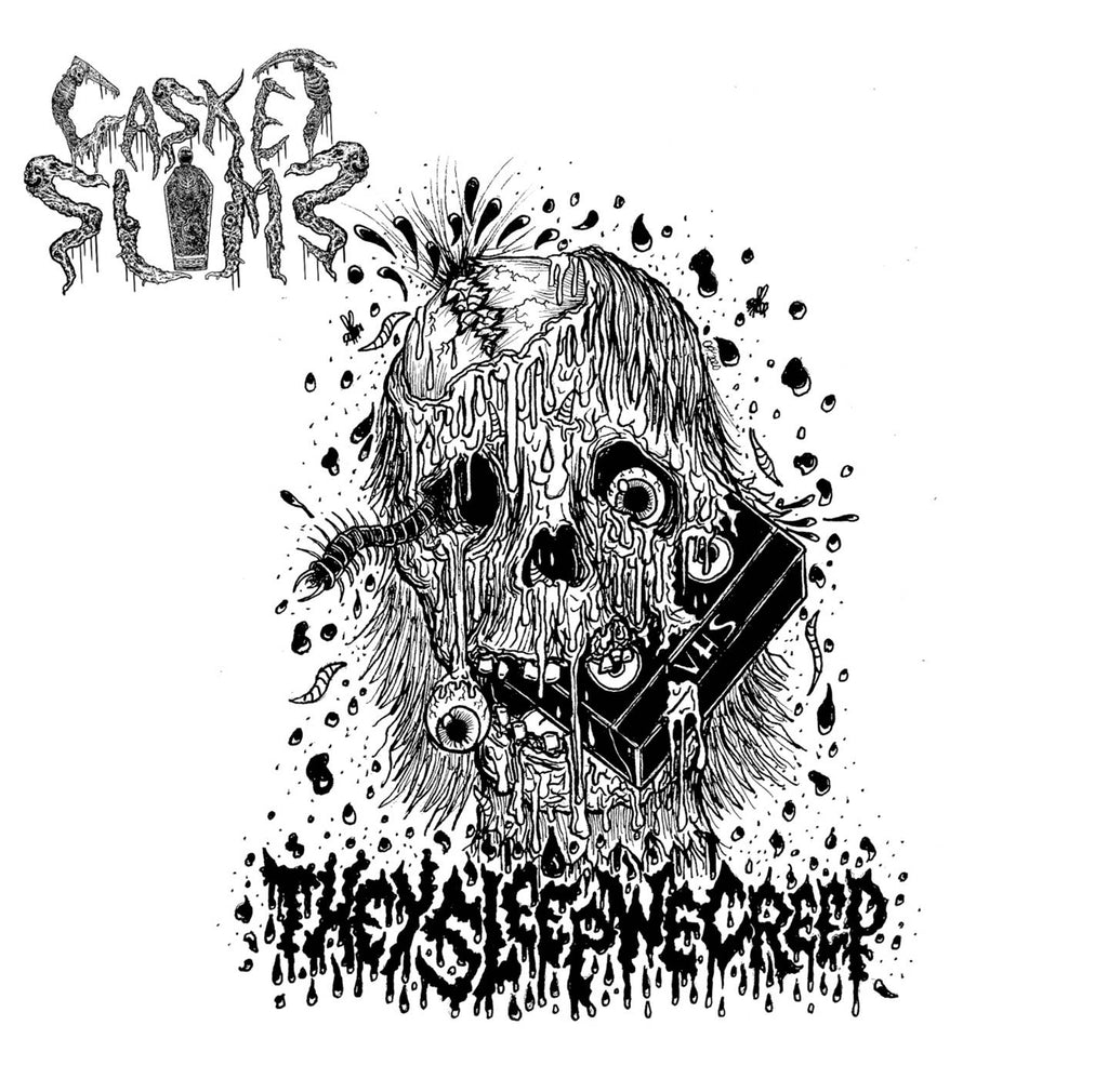 CASKET SLIME- They Sleep We Creep CD on Sevared Rec.
